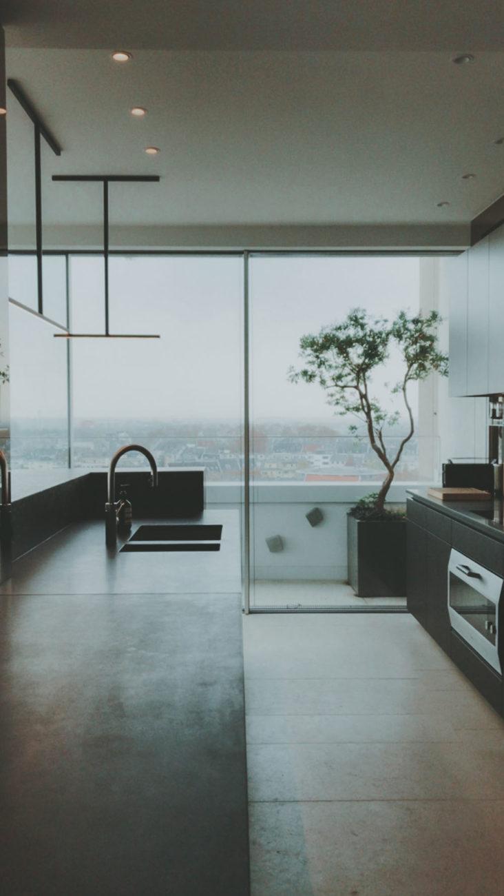 Penthouse Küche